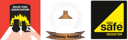 Solid Fuel Association, Association of Professional and Independent Chimney Sweeps, Gas Safe